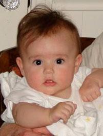 Susanna at four months